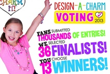 2013 Design-A-Charm Contest Finalists / by CHARM IT!
