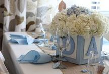 Baby shower and christening ideas / Stunning centrepiece, beautiful colours and wonderful cakes. sounds like a wedding? No it is a christening or baby shower board. Baby showers and christening celebrations now demand as much attention..as it is your babies special day. Make all events stand out with some great ideas and beautiful dressing.