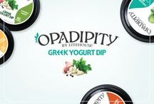 OPADIPITY / We were so excited with our Greek yogurt dressing that we couldn't stop! Introducing Opadipity, the Greek yogurt dip that's taking the world by storm!