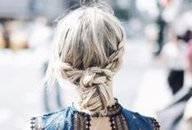 HAIR INSPIRATION / All Things Hair: Inspiration, Style And Products