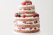 Naked Cakes - Tartas desnudas / Deliciosas tartas sin cubrir con fondant en las que se ve el bizcocho y la crema.