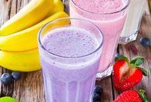 SMOOTHIES / Batidos de frutas y verduras para alimentarse de forma sana.