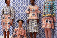 XIII   Prints & Patterns Covet / African Wax Print fabric and design pattern appreciation and inspiration.