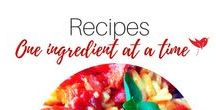 Recipes -One Spoonful at a time / Recipes, Meals, Food, Cooking