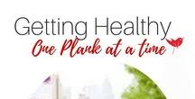 Getting healthy - One plank at a time / Keeping fit and healthy