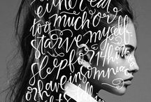 LETTERING | Script / CURVES TO LOVE