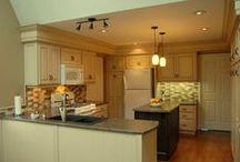 KITCHENS / Beautiful renovations, upgrades and custom kitchens.