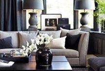 Home Ideas - Living Lounge / by Karin Krüger-Jubber