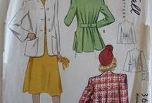 my vintage pattern collection / A collection of the 1940s patterns I have in my stash with the odd one from the 1930's and 1950's as well.