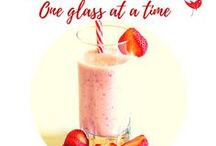 Smoothies and drinks - One glass at a time / Smoothies, milkshakes and alcohol - if it goes in a glass it is here