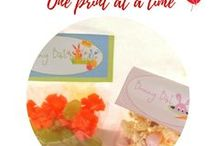 Printables - One page at a time / useful printables