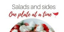 Salads and side dishes - One dish at a time / Salads, Sides, Food ,Recipes