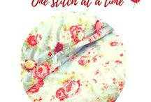 Sewing and material crafts - one stitch at a time. / Sewing, Materials, Crafts, Quilting, Embroidery
