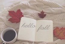 Autumn is here... / Rustling leaves, cosy knits and burnt reds and oranges - autumn is here!