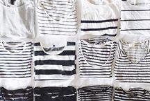 Breton Stripes / My obsession with Breton stripes.