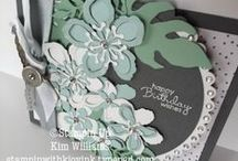 Stampin Up Occasions Catalog / Cards and paper craft ideas from the new Stampin Up Occasions Catalog. Lots of easy ideas - duplicatable. I love this new Stampin Up Catalog. See my blog, Stampin with Kjoyink for lots of great card and diy project samples and ideas.