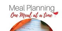 Menu Planning - One menu at a time / Menu Planning, Menus , Recipes, Menu Ideas, How to Menu Plan