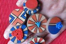 my rings - mijn ringen / rings made by me Ringen die ik zelf maakte