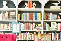 Bookshelves / by Jessica Jackson