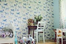 Kids Rooms- Wall Covering / Wall Coverings for Kids Rooms, Interior Design, Interior Decorating
