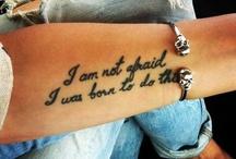 Tattoos  / by Ashleigh Ferguson