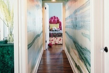 Our long hallway! / by Jennefer Wilson