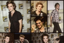 Rob at Comic Con & Twilight Conven. / by Shelly H