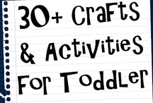 For The Kids: Crafts and Activities  / Crafts, Activities and Homemade Kid Products like Playdough etc  / by Amber Bachim