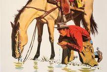 4 Color Cowboy / by Matt Hinrichs Design & Illustration
