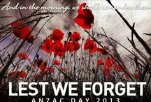 Lest We Forget / by Virginia Gordon