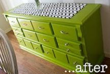 Furniture Painting Ideas / Furniture Painting, Furniture, Furniture Hacks, Interior Design, Interior Decorating