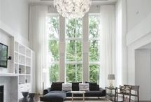 Two Story Window / Window Treatments, Two-Story Windows, Windows, Architectural Elements, Interior Design