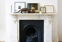 Mantle Styling / Fireplace Mantle Styling, Fireplaces, Mantles, Interior Design, Architectural Elements, Accents