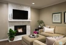 Fireplaces / Fireplaces, Design, Interior Design, Architectural Elements