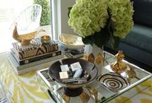 Table Styling / Table Styling, Design, Interior Design, Home Decor, Furniture, Accents, Accessorizing