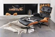 Eames Lounge Chairs / Eames Lounge Chairs, Furniture, Lounge Chairs, Interior Design, Home Decor