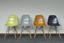 Eames Chairs / Eames Chairs, Furniture, Home Decor, Interior Design, Chairs