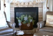 Mantel Decor / by Arika Lowe