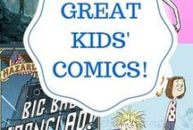 Comics for Kids / Comics for young children, middle grade, older kids, and young adults.  Time to get reading!
