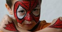 Face painting - boys