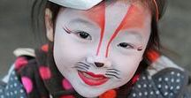 Face painting - animals