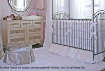 Little Bunny Blue / Luxury Nursery Designer Michelle Henry of Little Bunny Blue  https://www.littlebunnyblue.com/