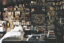 Bookshelves / I love books and bookshelves! A home without any isn't a home.