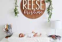 Baby's Spaces / Nursery ideas, baby room decor, baby girl, baby boy, nursery hacks, nursery tips and tricks, new baby, new mom, newborn, nursery must haves.