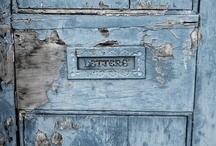 Snail mail / I'm a letter writer. The feel of the real paper and pen is something that technology can never replace. I also like beautiful mail boxes.