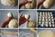 Baking: Bread & Info / Baking recipes & ideas. / by Ramza Hitti-Pogachar