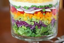 Salads / Something light and healthy for those hot summer days