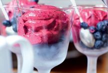 Ice creams & Sorbets / Decadent sweet treats for hit summer days