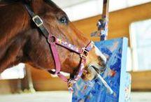 BOOK: Metro Meteor, Painting Racehorse