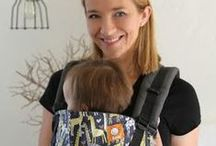 Midsize Baby Carriers for 6-18 Months / You don't have a newborn anymore, but your baby isn't a toddler yet. Lots of great choices! These carriers cover midsize babies with front carry & back carry, and are sized a little bigger, with more support.